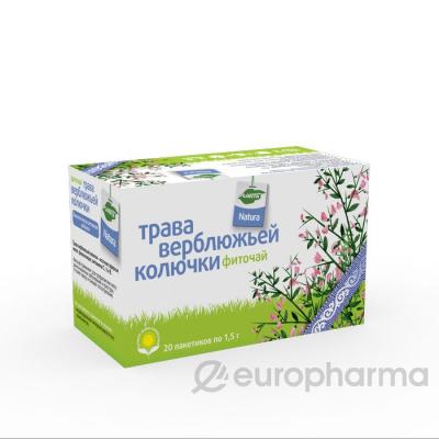 Верблюжья колючка трава 1,5 гр, №20, фито чай, Planta Natura