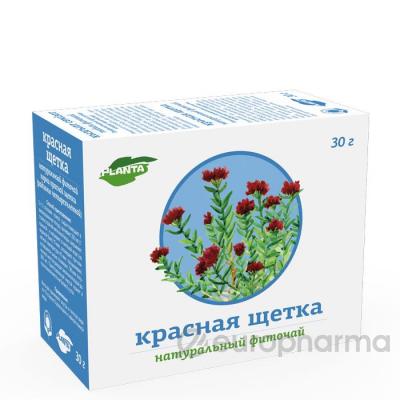 Красная щетка 30 гр, фито чай