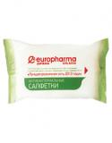 Салфетки влажные антибактериальные Europharma №15