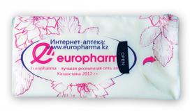 Носовые платочки Europharma 10шт
