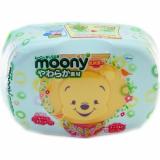 Moony салфетки влажные Case №80