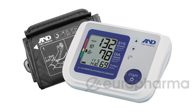 Тонометр A&D автомат.на плечо+адап. (UA-1100) с гипоаллергенной манжетой