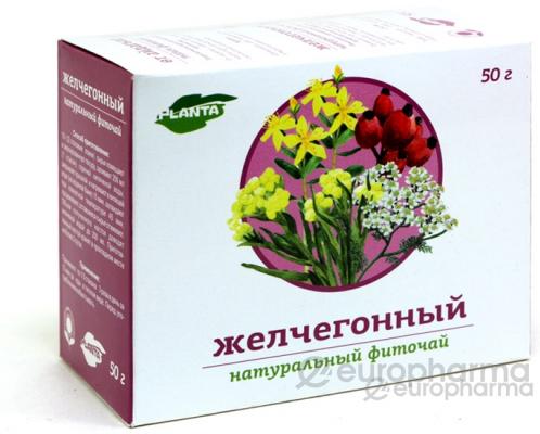 Желчегонный 1,0гр, №20, фито чай, Planta Natura