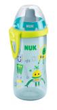 NUK Поильник Flexi Cup 24+ с трубочкой 300 мл