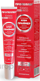 Пропеллер крем-праймер матирующий для лица Estetic Red 20 мл