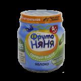 Фрутоняня пюре натуральное Яблочное 100 г