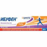 Ибуфен 100 мг/г гель, 50 гр для наружного применения