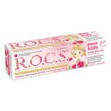 ROCS зубная паста с ароматом Розы (без фтора) 45 гр