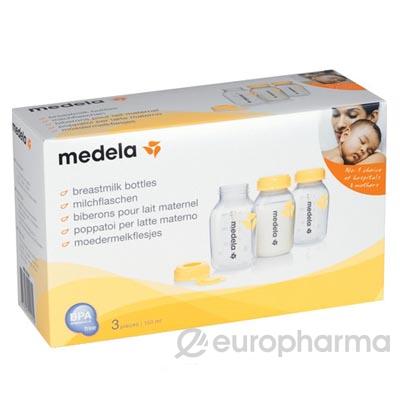Medela Бутылочка Breastmilk Bottle  3*150 мл