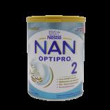 Nestle Смесь Nan 2 Optipro молочная для детей с 6 месяцев 800 г