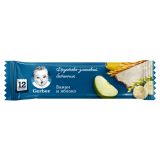 Gerber батончик банан и яблоко для детей с 12 месяцев 25 гр