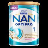 Nestle смесь Nan1 Optipro молочная для детей с 0 месяцев 400 г