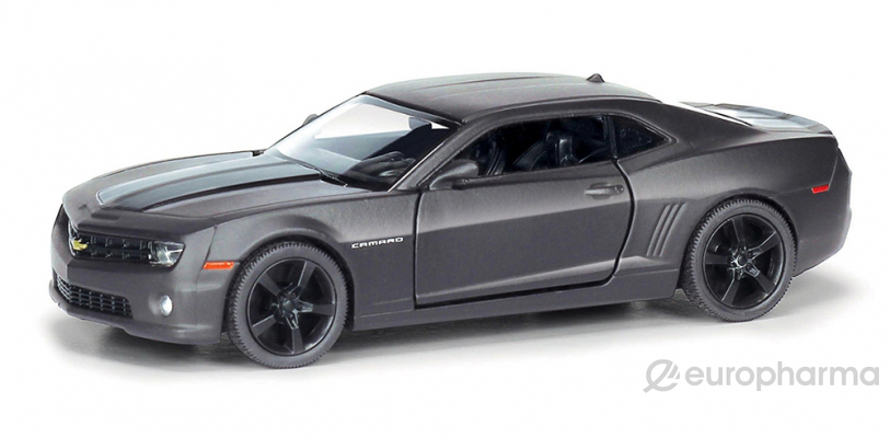 IDEAL машинка Chevrolet Camaro черное матовое покрытие 554005М (006031)