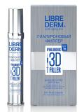 LIBREDERM крем для лица ночной гиалуроновый 3D филлер 30 мл