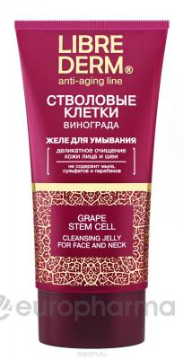 LIBREDERM стволовые клетки винограда желе для умывания Anti-Age 150 мл