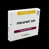 Улкарил 200 мг № 25 табл.