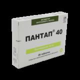 Пантап 40 мг № 28 табл