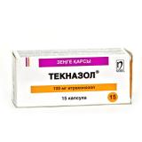 Текназол 100 мг, №15, капс.