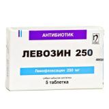 Левозин 250 мг, №5, табл.