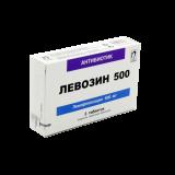 Левозин 500 мг № 5 табл п/плён оболоч