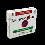 Синегра 100 мг № 1 табл п/плён оболоч
