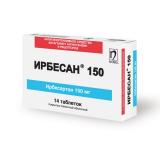 Ирбесан 150 мг, №14, табл.