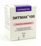 Зитмак 100 мг/ 5 мл  20 мл порошок для пригот. сусп.