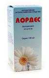 Лордес 2,5 мг/5 мл, 100 мл, сироп