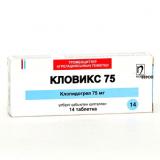 Кловикс 75 мг, №14, табл.