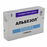 Альбезол 400 мг № 1 табл.