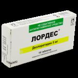 Лордес 5 мг № 10 табл п/плён оболоч