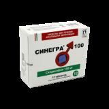 Синегра 100 мг № 12 табл п/плён оболоч
