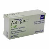 Амарил 2 мг № 30 табл