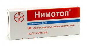 Нимотоп 30 мг, №30, табл.