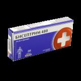 Бисептрим 480 мг № 20 табл.