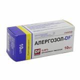 Алергозол-DF  0,06 % 10 мл капли