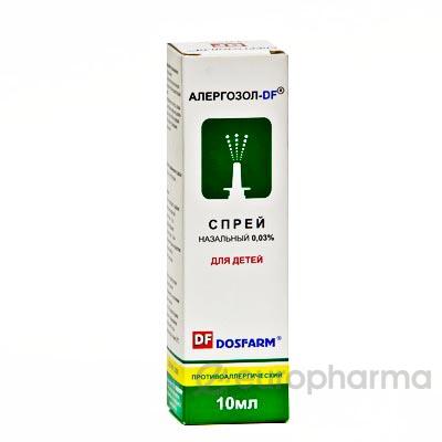 Алергозол-DF 0,03% 10 мл спрей