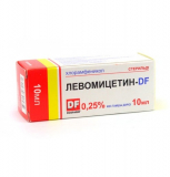 Левомицетин-DF 0,5% 10 мл капли глазные