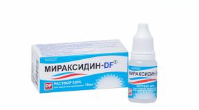 Мираксидин-DF 0,05%, 10 мл, р-р, для мужчин