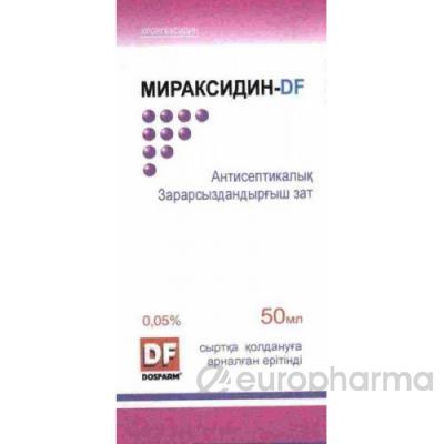 Мираксидин-DF 0,05%, 50 мл, р-р, для женщин