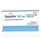 Эдарби 40 мг, №28, табл.