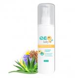 EcoBaby спрей для детей 3+«Легкое расчесывание» 150 мл с экстрактом алоэ и маслом льна