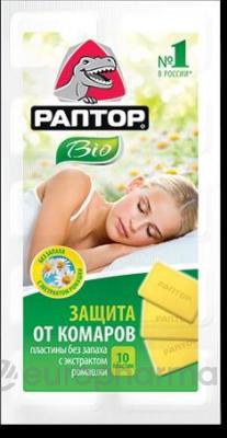 Раптор пластины от комаров Ромашка № 10
