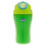 Chicco чашка-поильник зелёная 18+ 260 мл