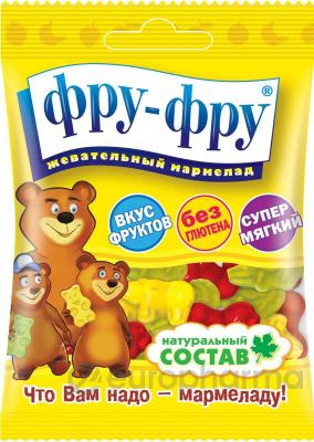 "Фру-Фру мармелад ""Медведики,азбука"" 30 г (FF-3-5)"