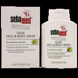 Sebamed мыло жидкое для лица и тела с оливками 200 мл (арт 1926952)