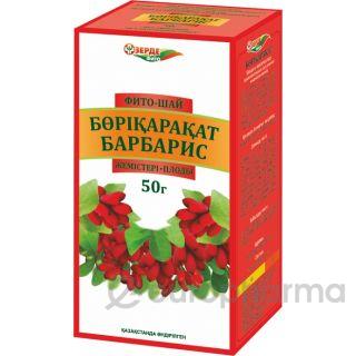 Барбариса плоды 50 гр, фито чай, Белла