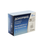 Донормил 15 мг № 20 шипуч табл