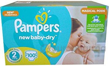 Pampers подгузники New baby Dry mini №25