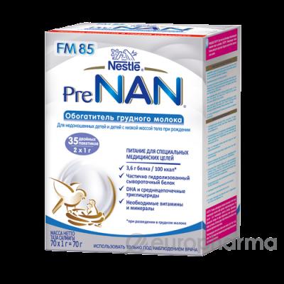 Нестле смеси NBF PRE NAN FM 6(70*1) гр